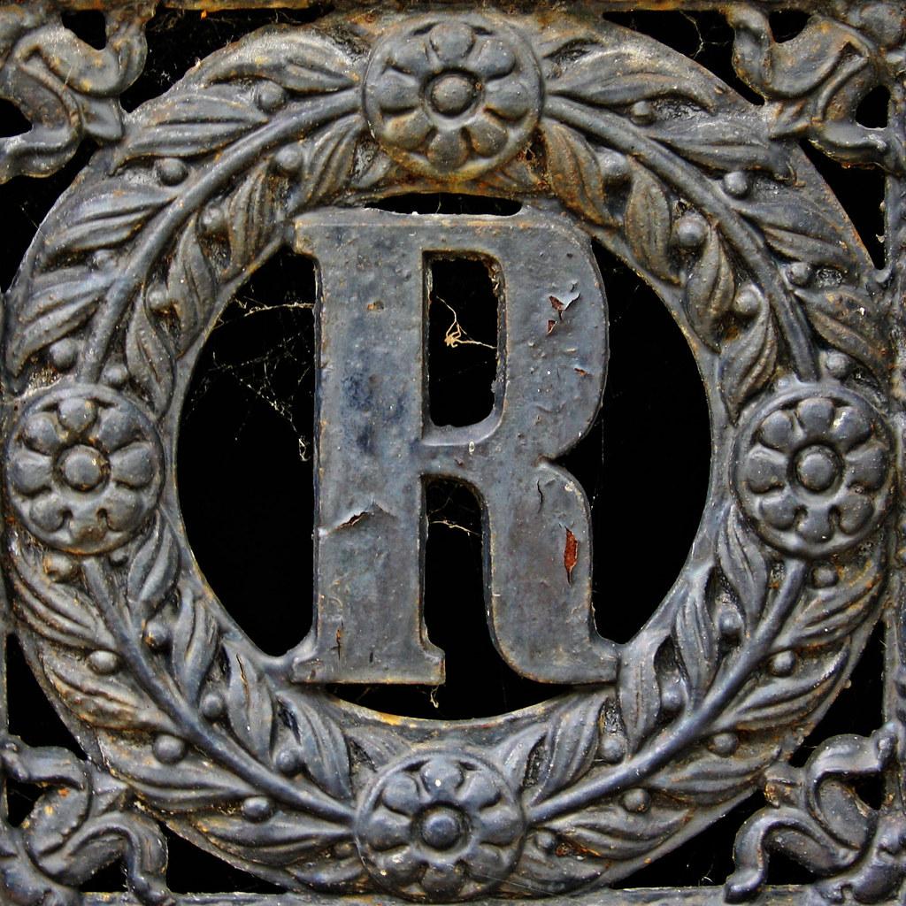 S Alphabet 3d letter R | Cimetiè...
