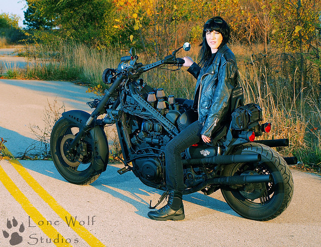 Rat Bike 2 My First Photo Shoot With A Model Taken On A