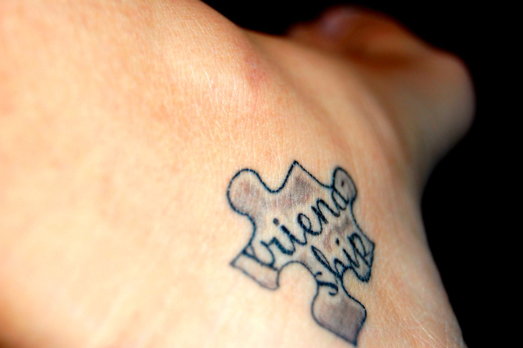 friendship tattoo on the inside of my left foot. Black Bedroom Furniture Sets. Home Design Ideas