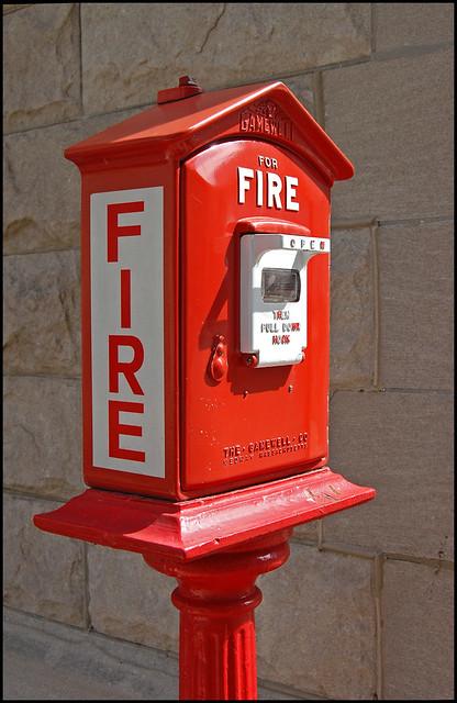 Fire Alarm Box Didn T Know These Were Still Around This