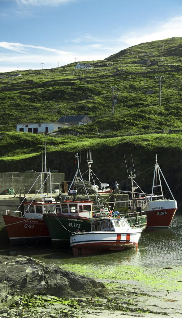 Inis Toirc Harbour Quot Inishturk Inis Toirc In Irish