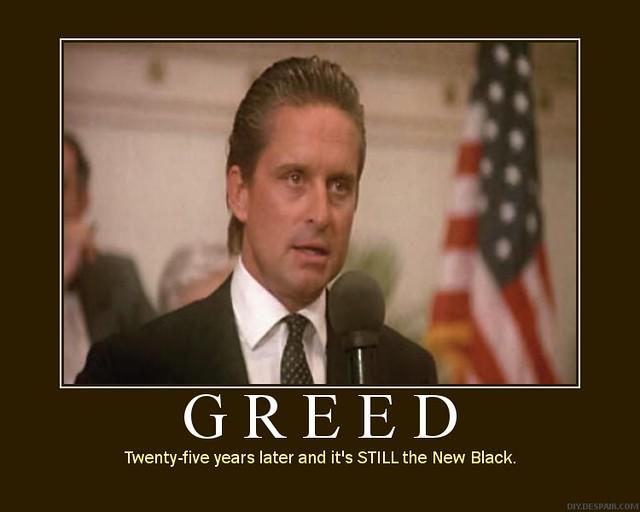 gordon gekko greed is good full speech