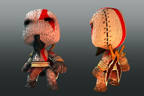 LBP - God of War Render | by PlayStation.Blog