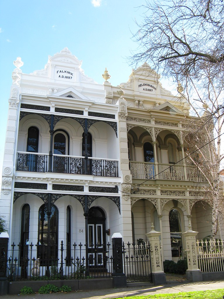 South melbourne architecture these immaculately restored for Classic home designs sydney