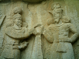 The bas relief of Ardashir II | by Hamid Salari