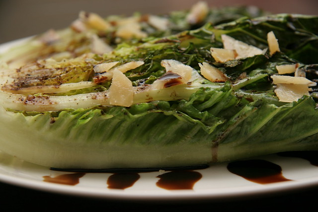 Grilled Romaine Hearts | Flickr - Photo Sharing!