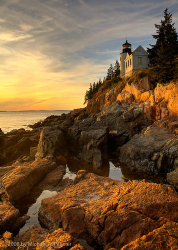 Bass Harbor Light Sunset | by Michael Pancier Photography