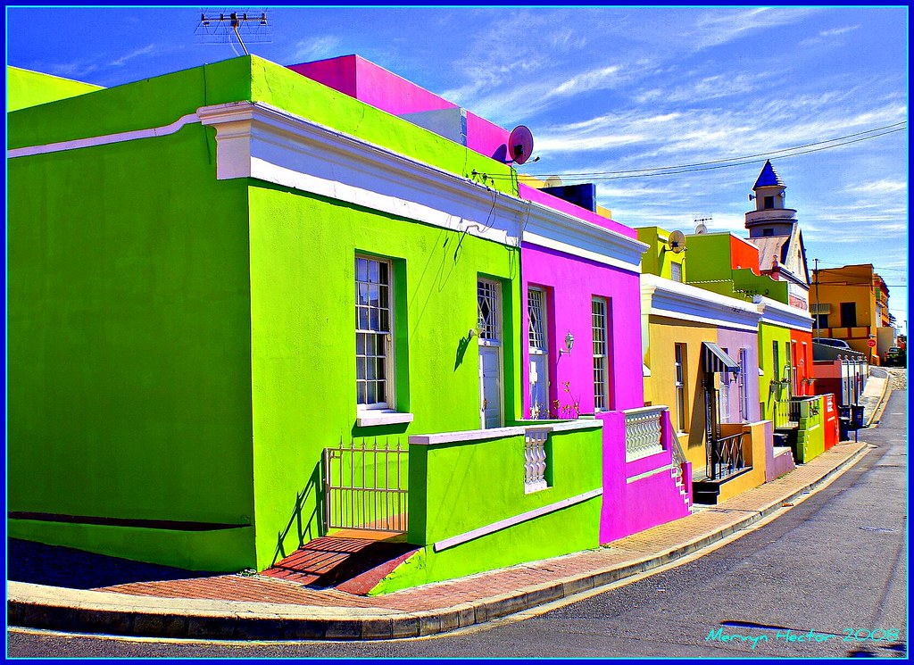 Bo Kaap The Bo Kaap Or Cape Malay Quarter As It Was