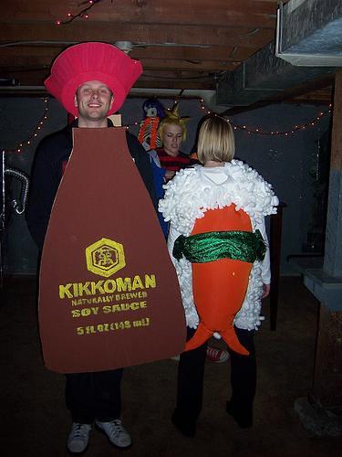 Kikkoman Soy Sauce Costume And Sushi  Wwwzeercomfood -8061