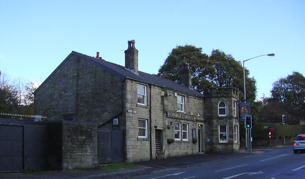 The George And Dragon Pub 415 Rochdale Old Road Bury L