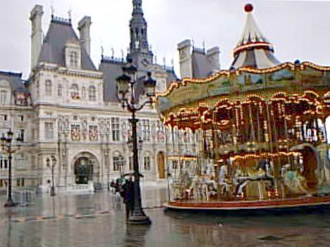 Parhalles16 h tel de ville carousel paris 2000 old - Piscine des tourelles paris ...