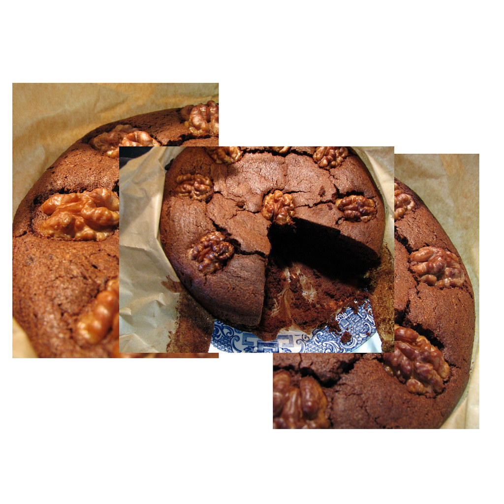 Flourless Dark Chocolate Truffle Cake