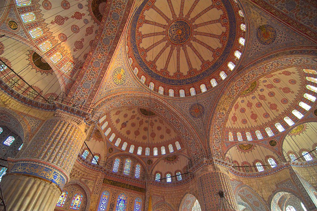 Turkey Istanbul Blue Mosque Interior 4 Now For A