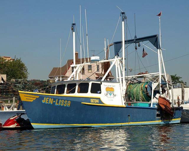Jen lissa fishing boat sheepshead bay brooklyn nyc for Sheepshead bay fishing