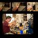 Assembling a valve.