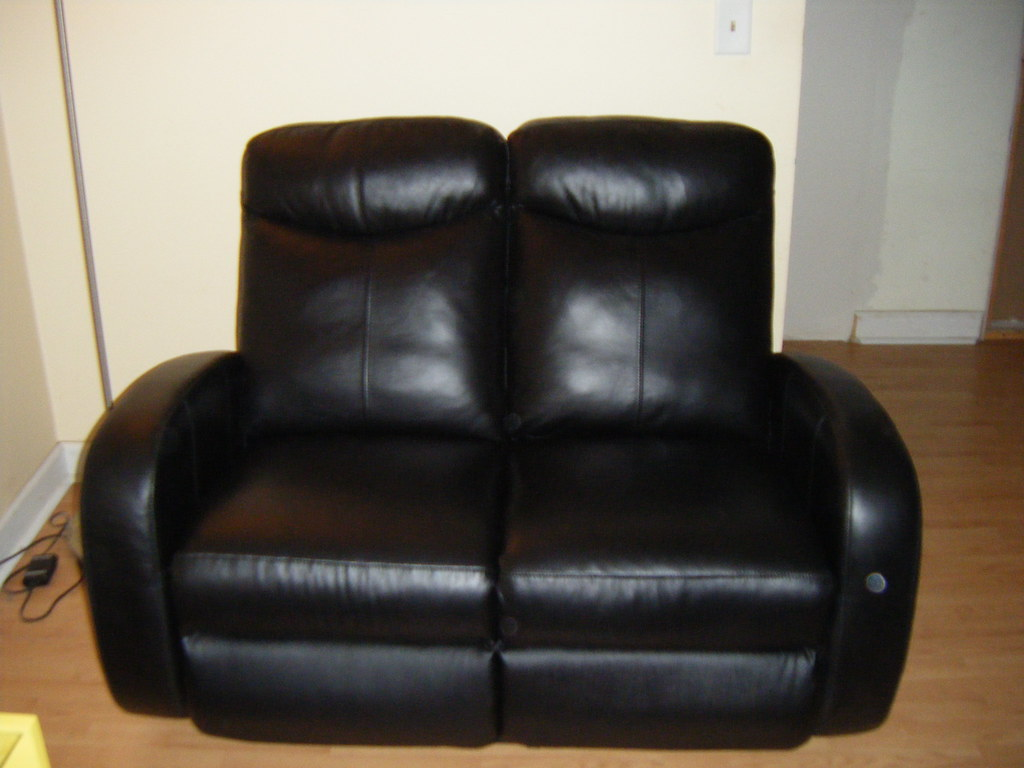 Black Leather Set Black Leather Sofa Loveseat For Sale