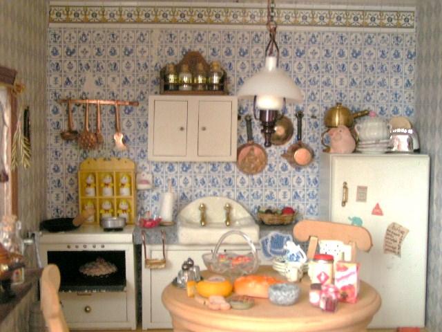 Dollhouse Kitchen Fairyina Flickr