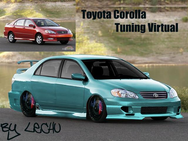 Toyota Corolla Tuning Virtual Mariano Quinteros Flickr
