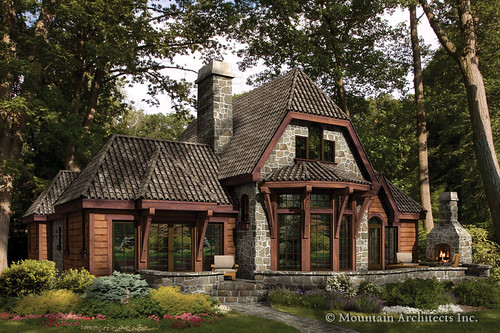 Rustic luxury log cabins the trian flickr photo sharing for Luxury rustic homes