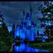 Disney World Magic Kingdom Castle - HDR