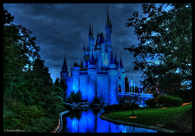 Disney World Magic Kingdom Castle Hdr This Picture Of