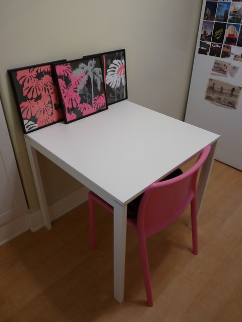 sold white ikea melltorp table
