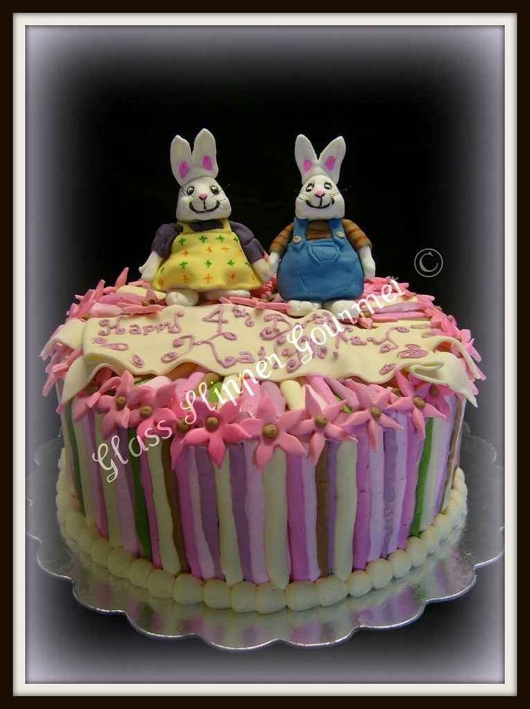 Quot max and ruby quot birthday cake kailyn loves pink and tv ca flickr