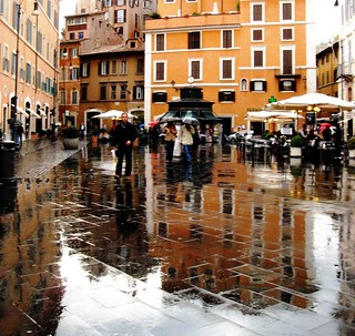 Rain in Rome, Italy | by moonjazz
