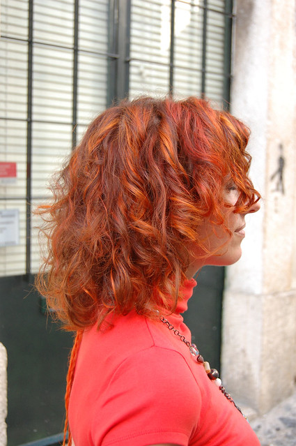 Hair Color Fire Red  Hair Color By Neria  Wiphairport  Flickr