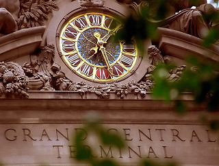 "New York - Grand Central Terminal ""Clock"" 