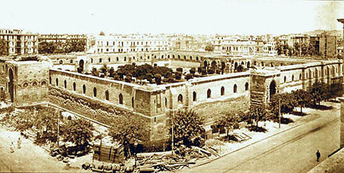 The Mosque Of Sultan Al Zahir Baybars In Cairo The