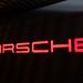 Porsche Logo in Showroom 2