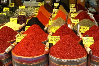 Fragrant and colorful spices at the Spice Market, Istanbul, Turkey | by Alaskan Dude