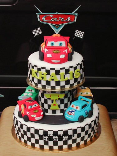 Cake Decorating Racing Car : Pixar Cars Theme Cake Flickr - Photo Sharing!