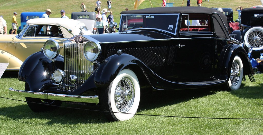 Rolls Royce White >> 1935 Rolls Royce Phantom II convertible | Richard Spiegelman | Flickr