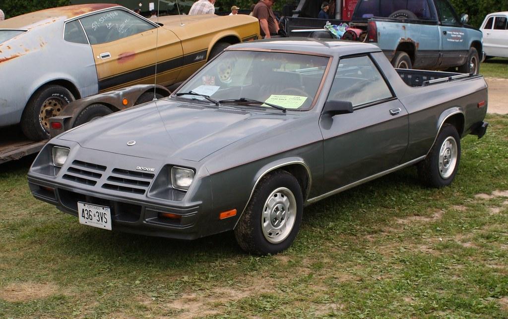 1982 Dodge Rampage pickup   Richard Spiegelman   Flickr