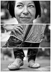 Triptychs of Strangers #17, The Cautious Doubter - Hamburg