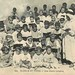 Morocco c 1910s Postcard - a local Koranic School Group