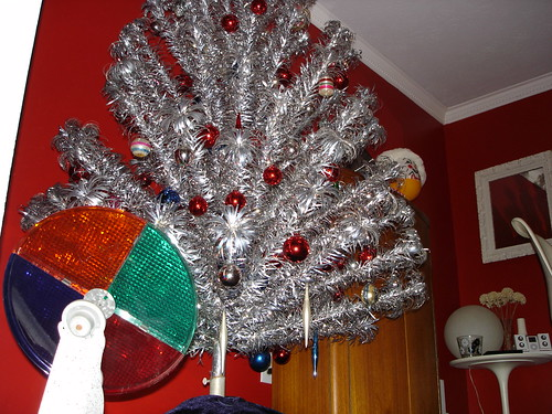 aluminum christmas tree and color wheel Rainforest Islands Ferry