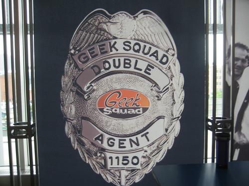 Geek Squad Badge Booth Geek Squad Badge