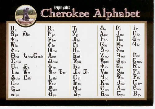 cherokee writing Explanation for beginners about how to use the symbols of the cherokee indian  alphabet (actually a syllabary.