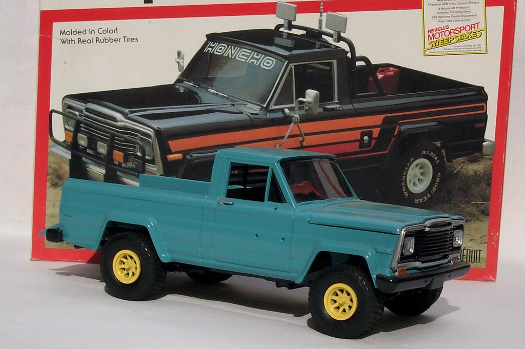 Jeep Honcho model kit | Took these photos to sell these on ...