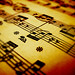 Sheet music (Stock photo by Hiden84)