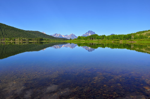 Summertime Depth Sounding at Oxbow Bend | by Fort Photo