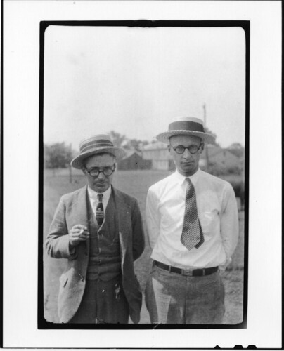 Tennessee v. John T. Scopes Trial: George Washington Rappleyea (l) and John Thomas Scopes (r) | by Smithsonian Institution