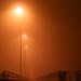 Foggy night in Kiel