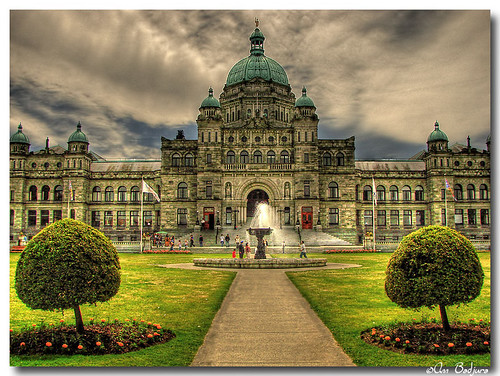 Legislative buildings in victoria bc canada hdr for Garden shed victoria bc