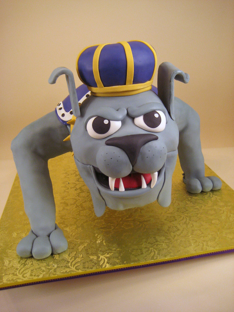 Jmu Duke Dog James Madison Mascot Cake Lauren Flickr
