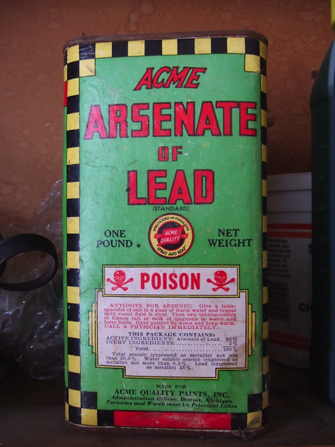 Acme Arsenate of Lead | Found in my parents garage. The ...
