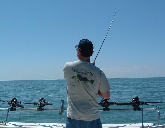 Lake erie walleye fishing monroe michigan fish on for Weekly fishing report mi